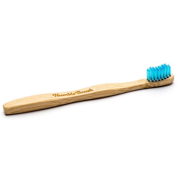 Humble Brush kindertandenborstel blauw