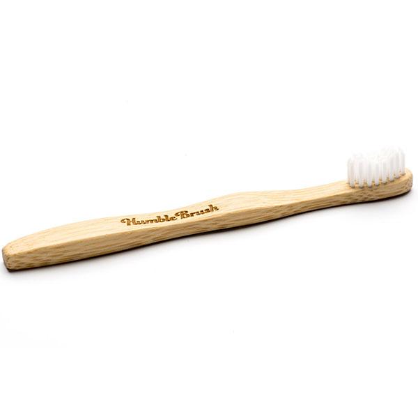 Humble Brush kindertandenborstel wit