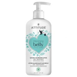 attitude blooming belly bodylotion