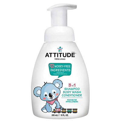 Attitude little ones 3in1 babyshampoo pear