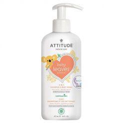 Attitude baby leaves baby shampoo pear nectar