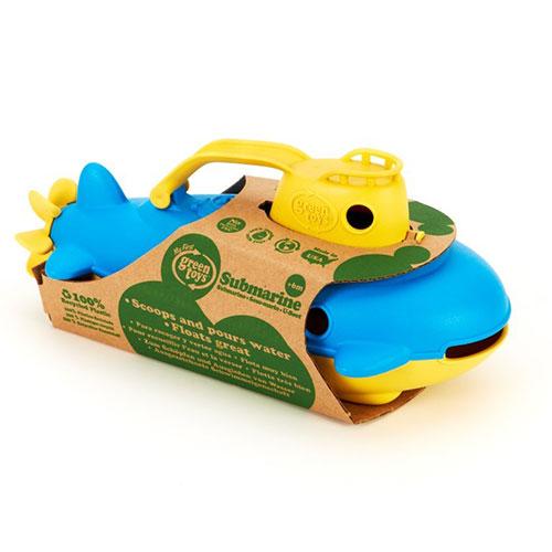 Green Toys duikboot blauw doos