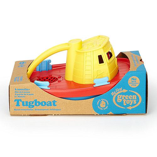 Green Toys sleepboot doos