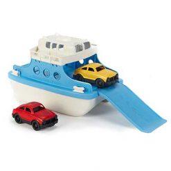 Green Toys veerboot met autootjes