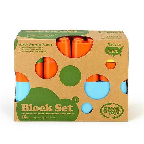 Green Toys blokken verpakking