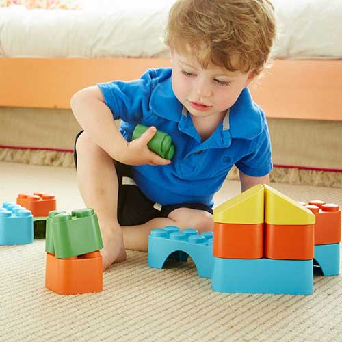 Green Toys blokken kind