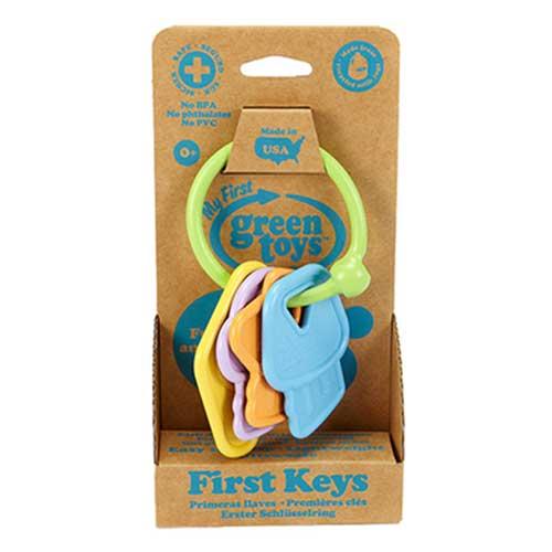 Green Toys baby sleutelbos verpakking