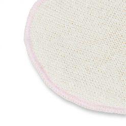 Elanee wasbare zijde en wol zoogcompressen detail