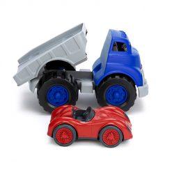 Green Toys vrachtauto met raceauto 1