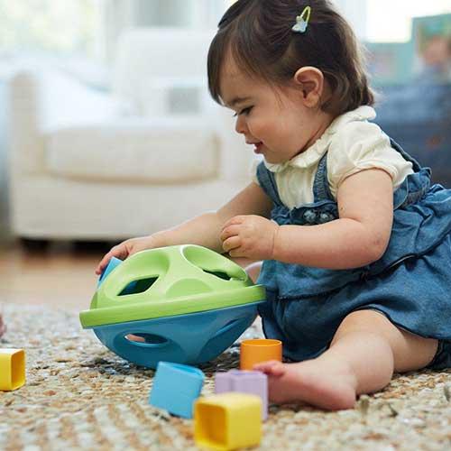 Green Toys vormenstoof kind