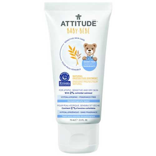 Attitude sensitive baby beschermende crème