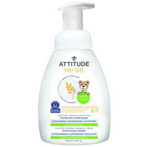 Attitude schuimende eczeem shampoo