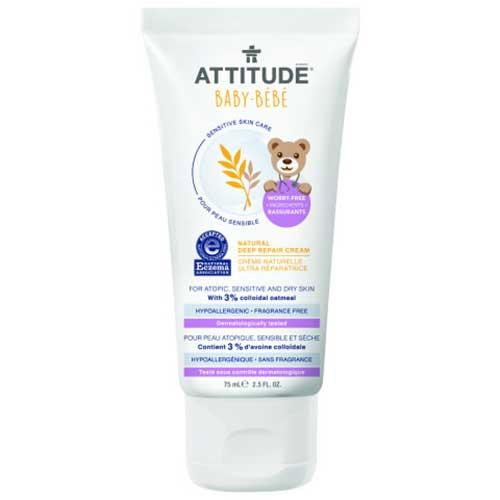 Attitude sensitive baby herstellende creme