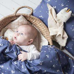Fabelab knuffeldoekje unicorn baby