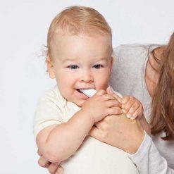 Grünspecht vingertandenborstel baby