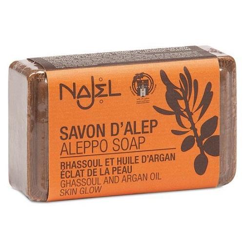 Aleppo zeep met lava aarde en arganolie