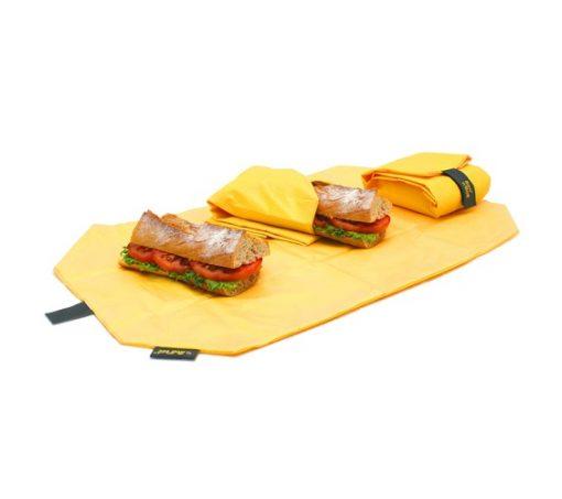 Boc'n'roll square geel eten