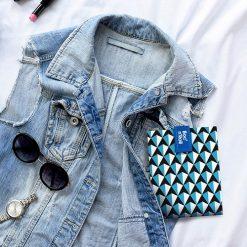 Boc'n'roll tiles blauw sfeer