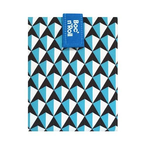 Boc'n'roll tiles blauw
