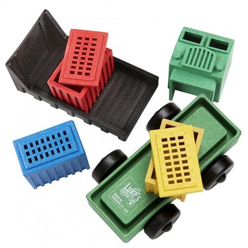 Luke's toy factory cargo truck puzzel