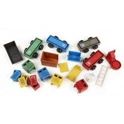Luke's toy factory trucks 4-pack puzzelstukjes