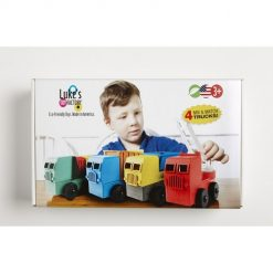 Luke's toy factory trucks 4-pack verpakking