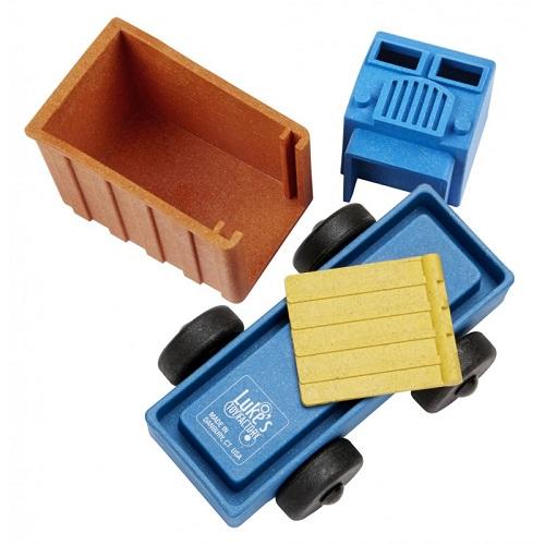 Luke's toy factory vuilniswagen puzzel