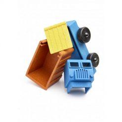 Luke's toy factory vuilniswagen stukjes