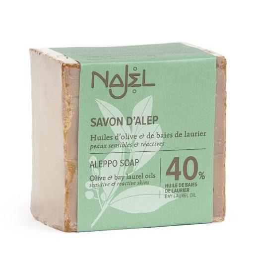 Najel aleppo zeep 40% laurier