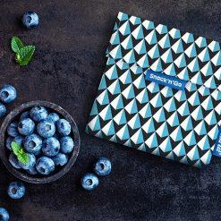 Snack'n'go tiles blauw sfeer