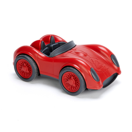 Green Toys raceauto rood