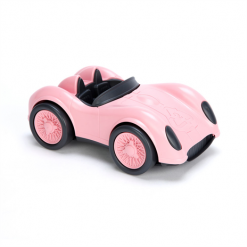 Green Toys raceauto roze