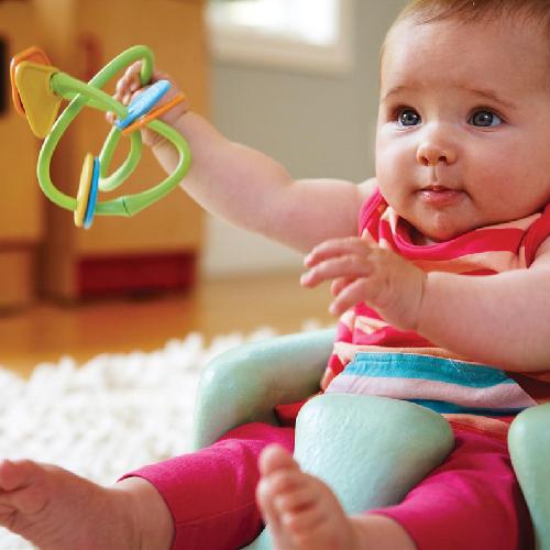 Green toys twist bijtring baby