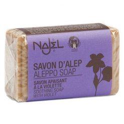 Najel aleppo zeep met viooltje