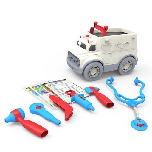 Green toys ambulance set 1