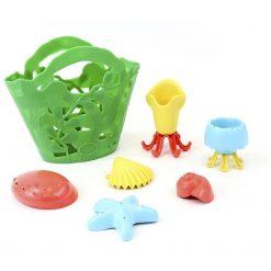Green toys schelpen bad set