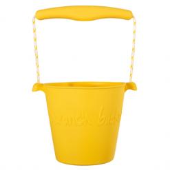 Scrunch emmer - buttercup yellow
