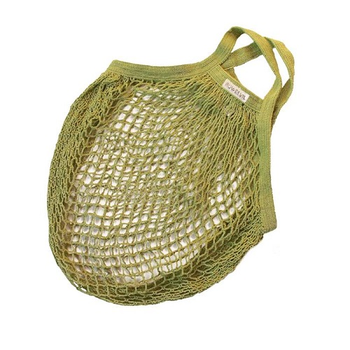 Granny style nettasje lime