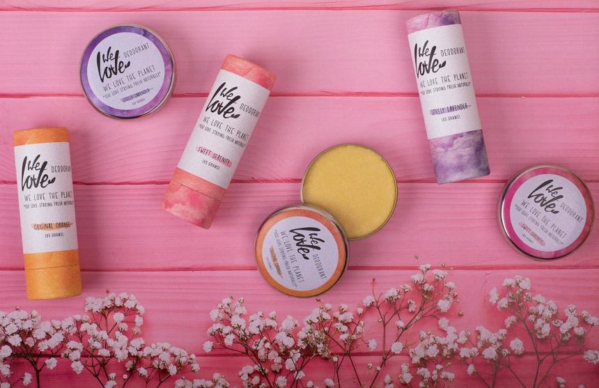 Natuurlijke deodorant we love the planet