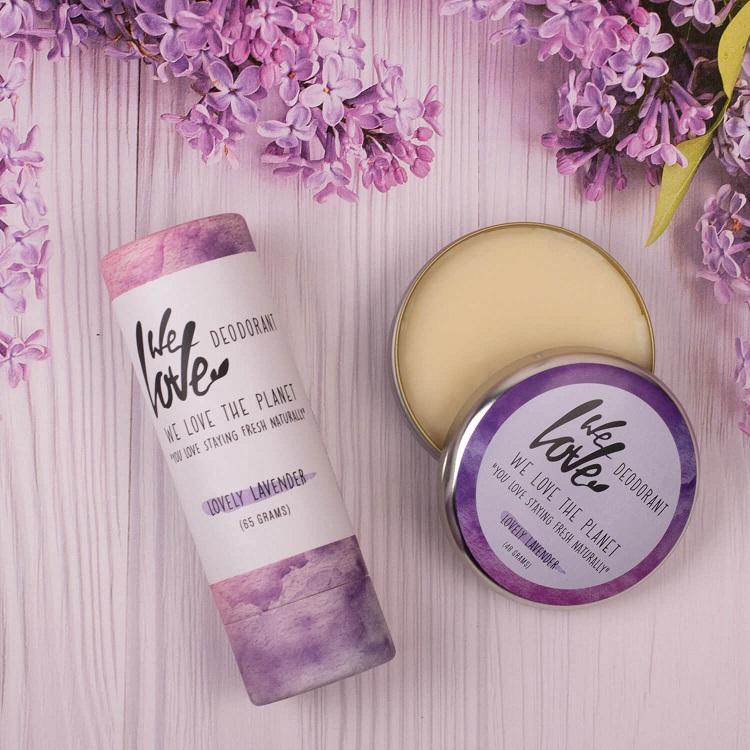 natuurlijke deodorant blik of stick