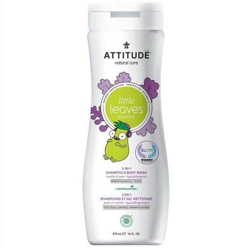 Attitude little leaves 2 in 1 shampoo vanilla pear