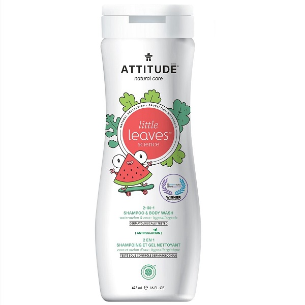Attitude little leaves 2 in 1 shampoo watermelon & coco