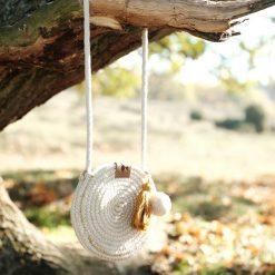 Fabelab rope purse oker sfeer