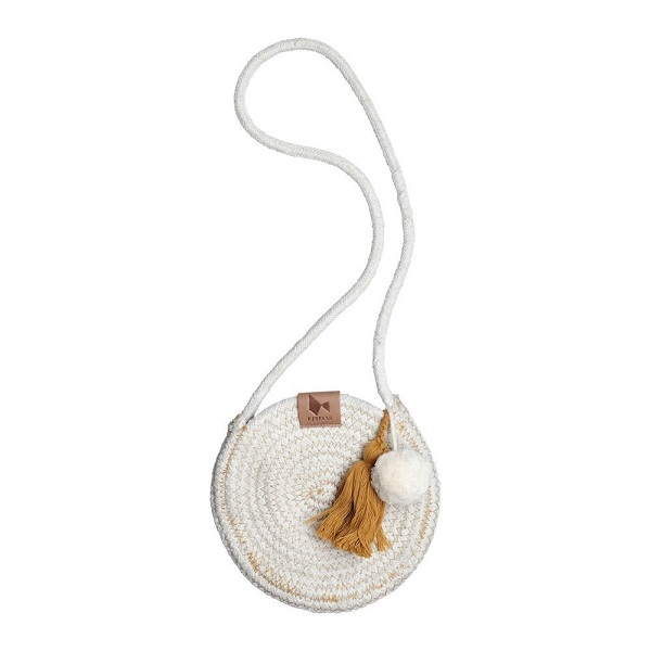 Fabelab rope purse oker
