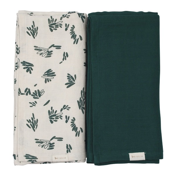 Fabelab swaddle set forest floor