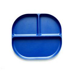 Ekobo bamboe divided tray blauw