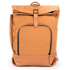 dusq-family-bag-canvas-cognac-voorkant