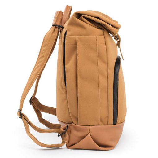 dusq-family bag-canvas-cognac-zijkant-2