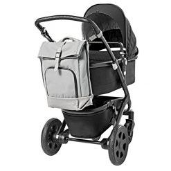 dusq-family-bag-canvas-grijs-kinderwagen