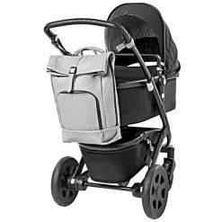 dusq-family-bag-leer-grijs-kinderwagen